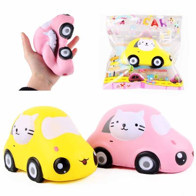 Slow Rise Kitty Car Stress Squishy Promotion Gift Decor Wholesale