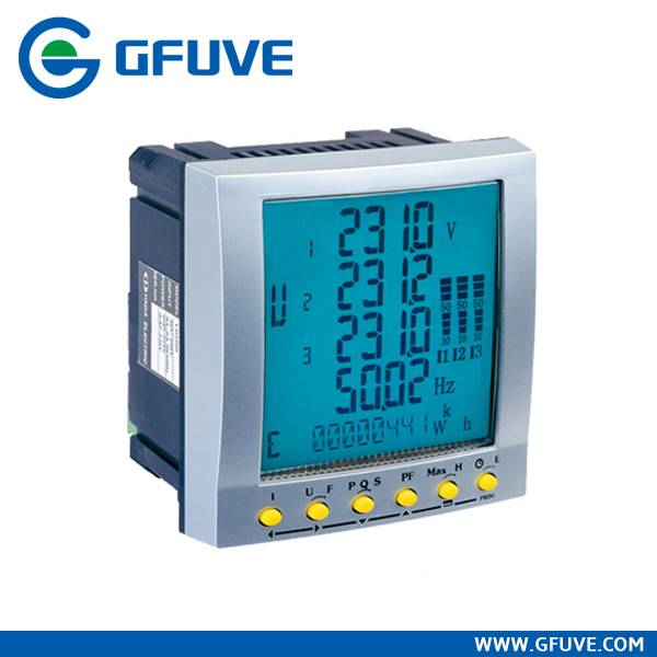 FU2200 RS485 PORT THREE PHASE STOP DIGITAL POWER METER