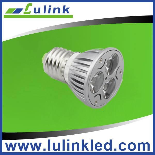Zhongshan E27/GU10/GU5.3/MR16 3W led spotlight
