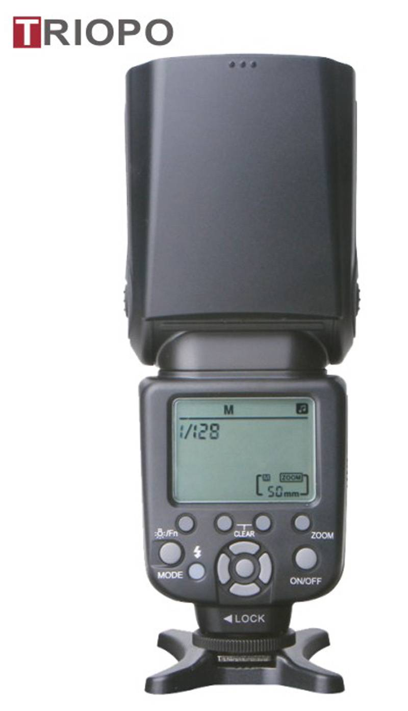 TRIOPO TR-982II camera flash light ,speedlite with TTL , master and slave function ,wireless functio