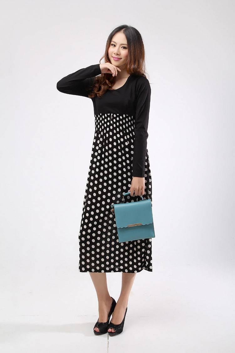 Wholesale Women's slim one-piece dress $3.07