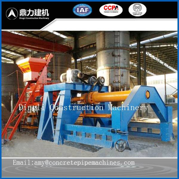 Cement spinning roller tube reinforced concrete control machine