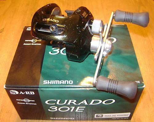 NEW SHIMANO CURADO BAITCASTING REEL CU301E
