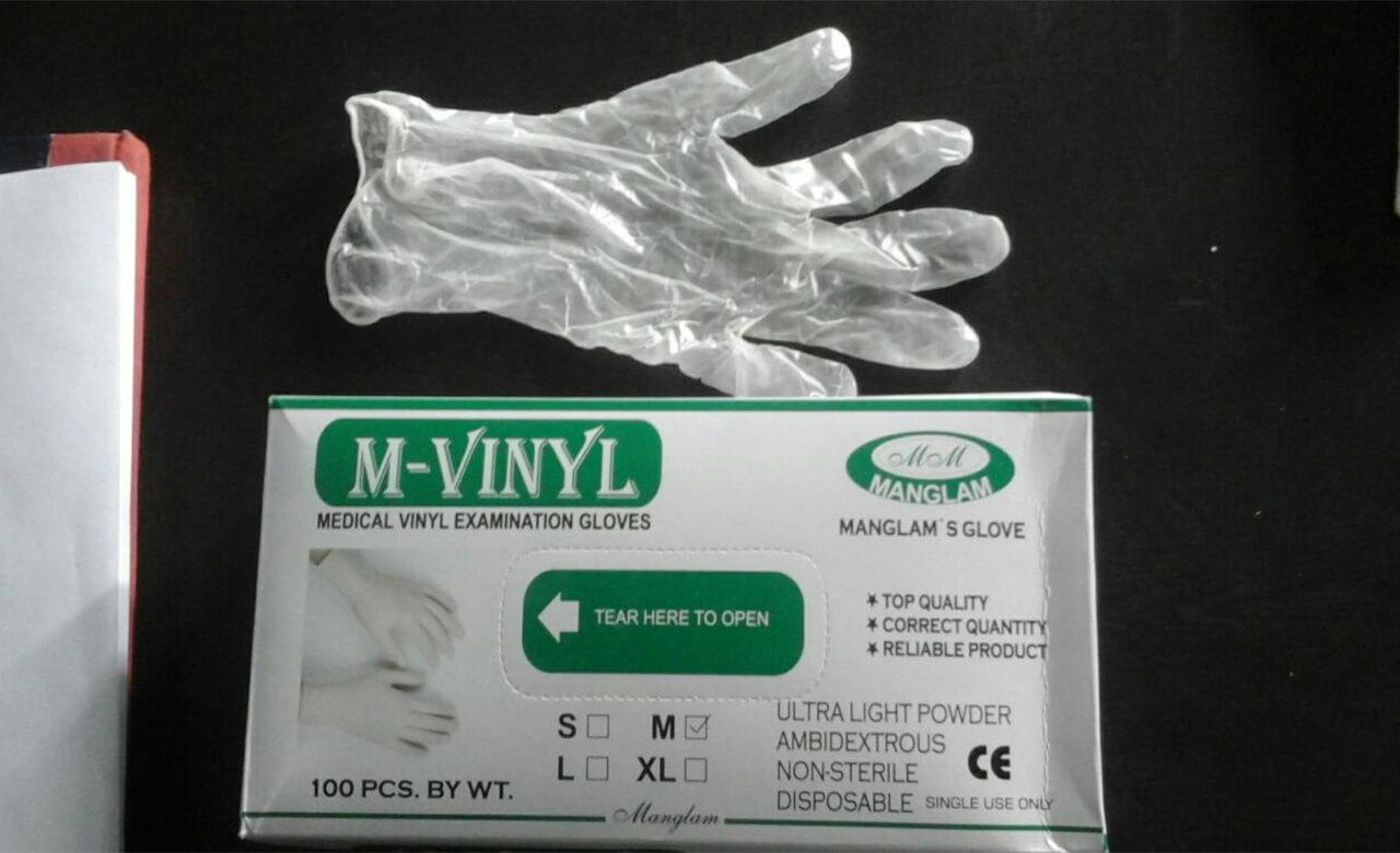 Powder-Free Vinyl Gloves - Non-Sterile Gloves