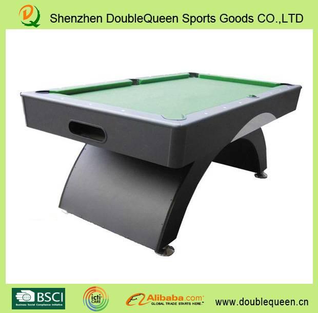 rainbow pool table/ billiard table with standard dimensions
