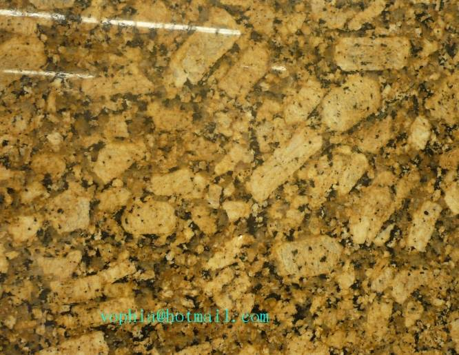 China bright yello Giallo Veneziano Fiorito granite