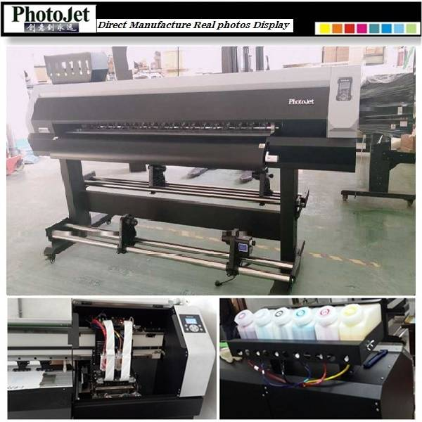 Eco solvent Paper and Plastic printing machine