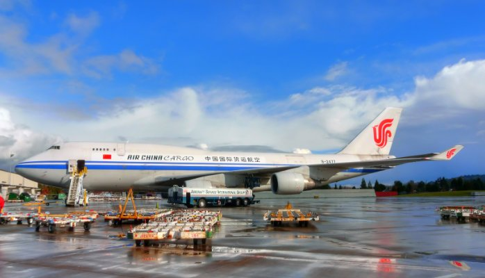air freight forwarding service from China to the United Kingdom