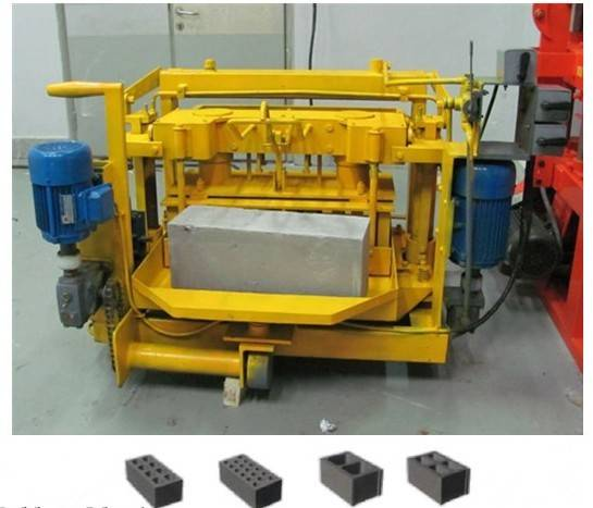 MJQ-4A egglaying block machine
