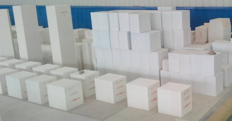 Fused cast refractory