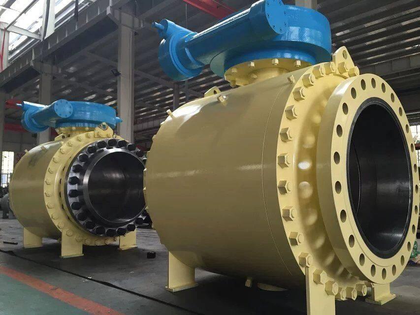 big size ball valve