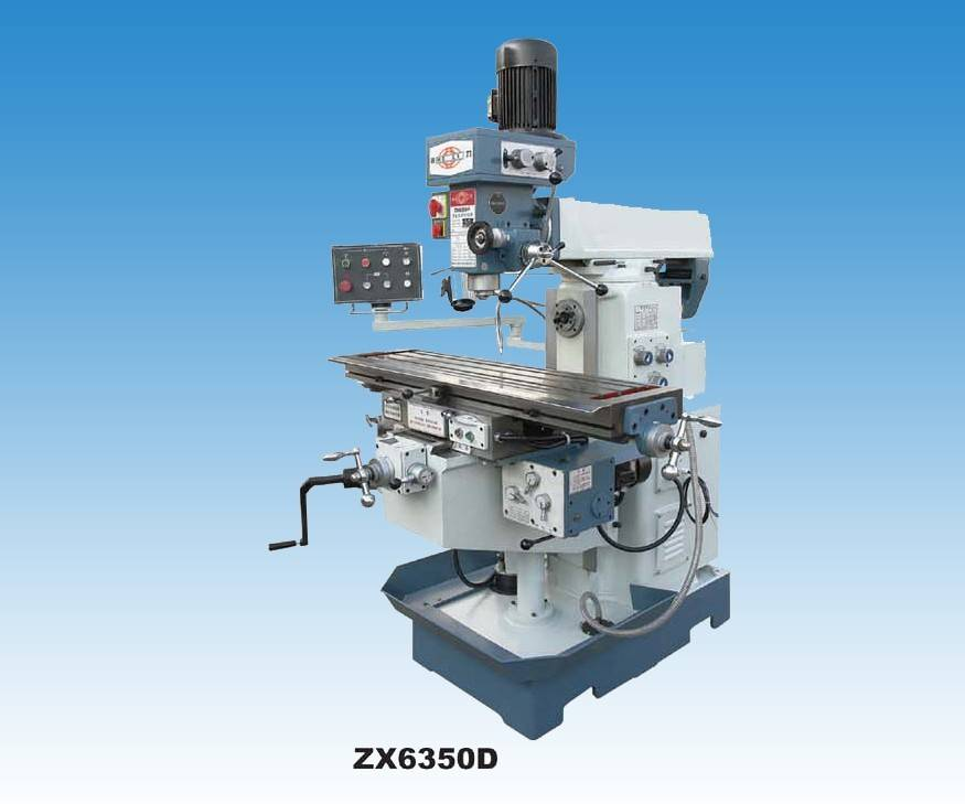 Drilling and milling machine ZX6350D