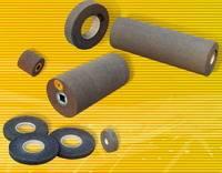 non-woven Convolute Wheels, Convolute Rollers, convolute cylinders