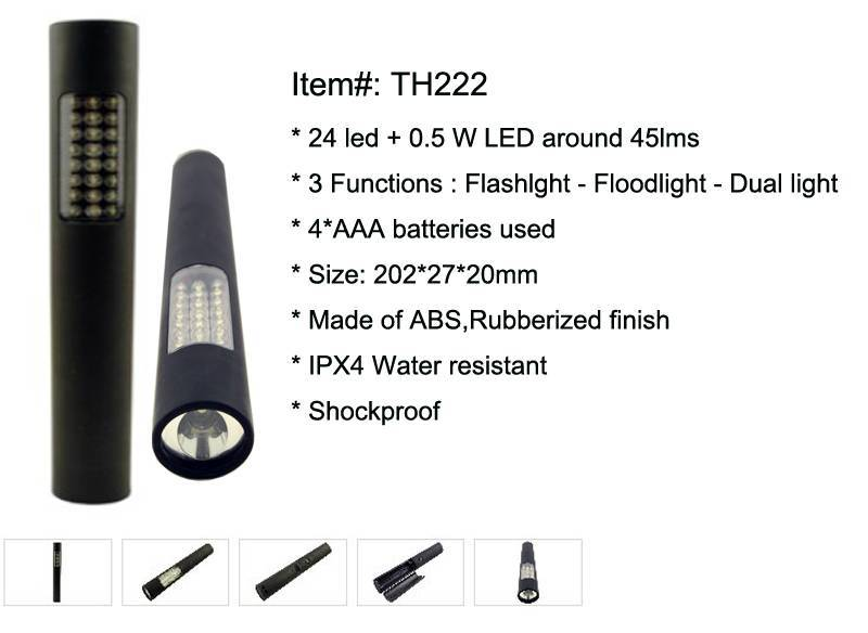 Portable 24 led Working Light TH222