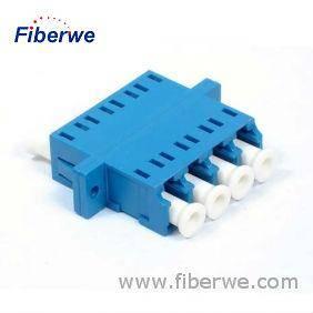 LC Quad Adapter, LC Fiber Optic Adapter, LC Adaptor, LC Coupler