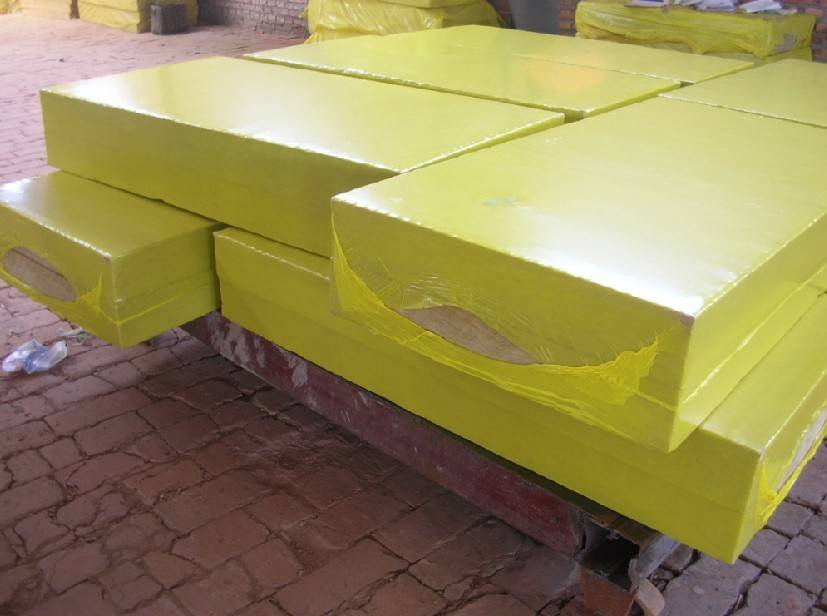 Thermal insulation rockwool board