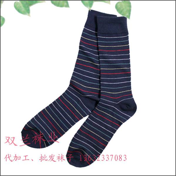 sports mens socks long size cotton material