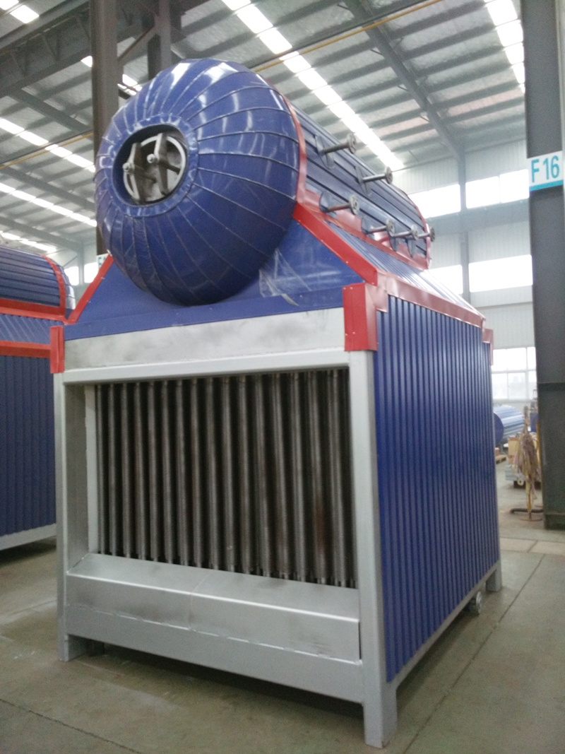 Newest Exhaust Gas Boiler High Temperature Flue Gas Heat Exchanger Boiler for Genset