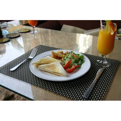 Supply PVC Woven Placemat