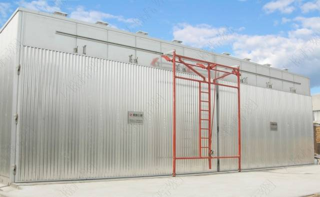 All aluminum conventional wood drying equipment