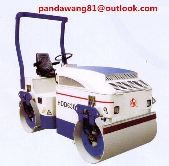3Tons Smasll Double Wheels Hydraulic Drive Roller