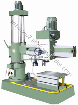 Z3040A Radial Drilling Machine (Double-column type)