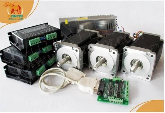 Technic 3Axis Nema 34 Stepper Motor 1600oz CNC Router & Mill