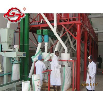 75T/D wheat flour production machinery,wheat flour production line