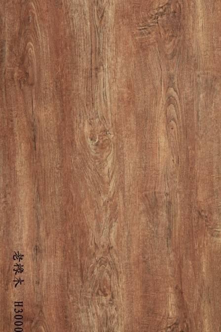 wood grain decorative paper for floo