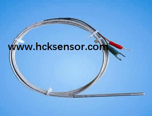 Assembly RTD PT100 platinum resistance sensors