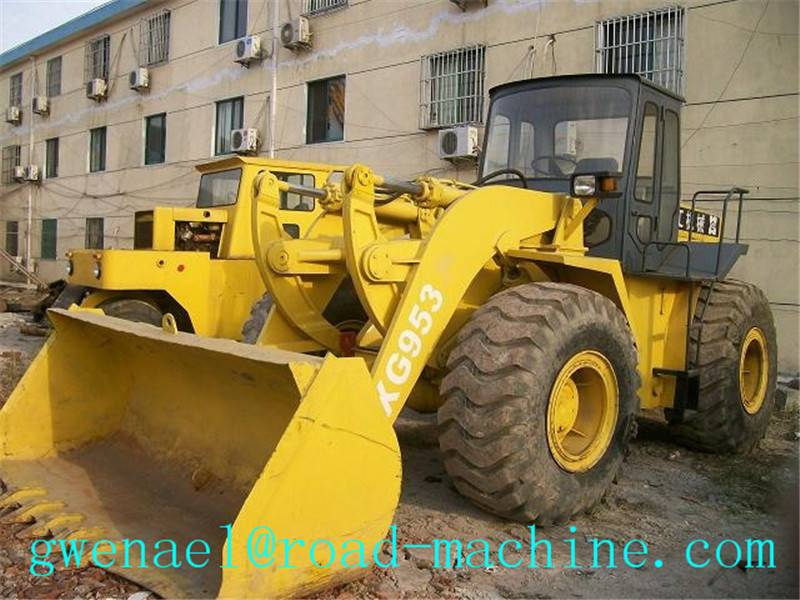 Wheel Loader 3090mm Diesel Compact LW500KL / 3 m³ , 17.4t Payload