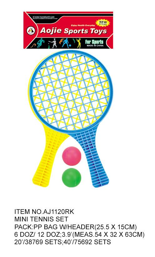 Plastic Mini tennis set
