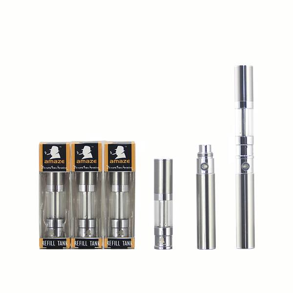 huge vapor clearomizer stainless steel electronic cigarette clearomizer