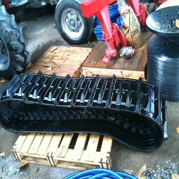 2014 hot sell Mini Excavator Rubber Tracks for agriculture machine