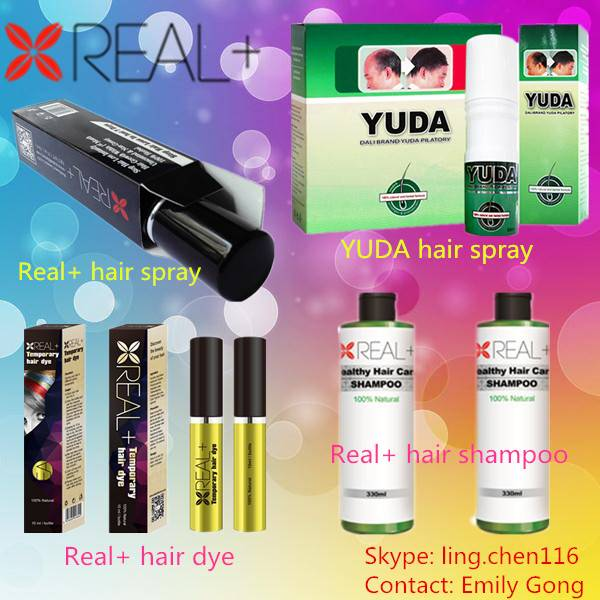 High quality real plus hair dye color.