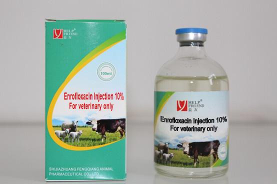 Enrofloxacin 10% Injectable Solution