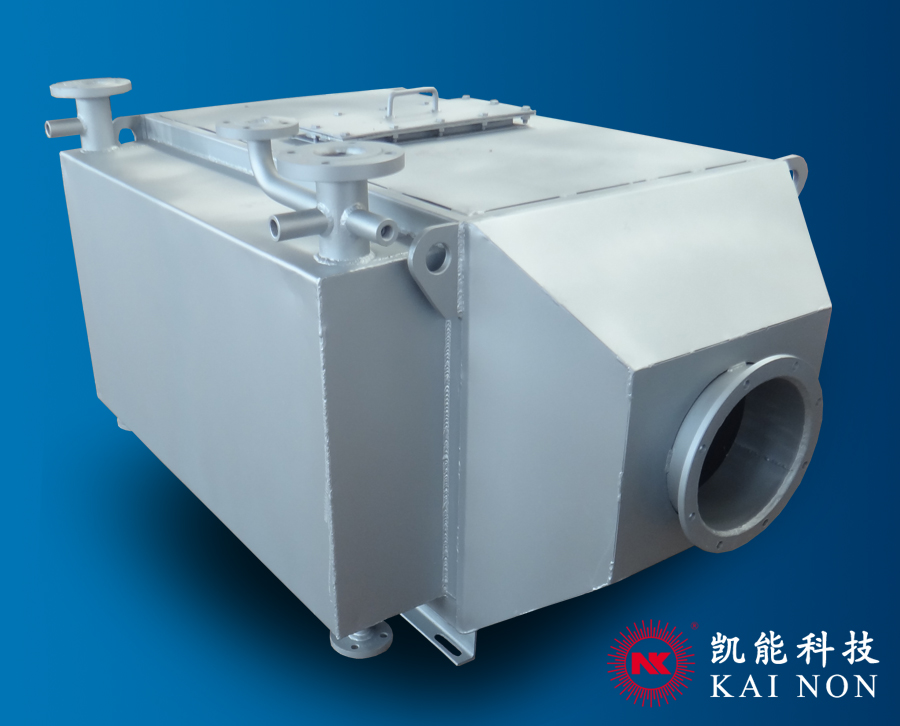 500KW Generator Set Waste Heat Recovery Boiler Exhaust Gas Pin Tube Boilers
