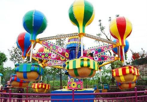 amusement balloon race ride