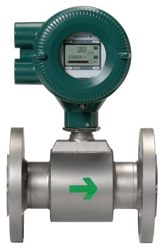 The ADMAG AXR two-wire magnetic flow meter