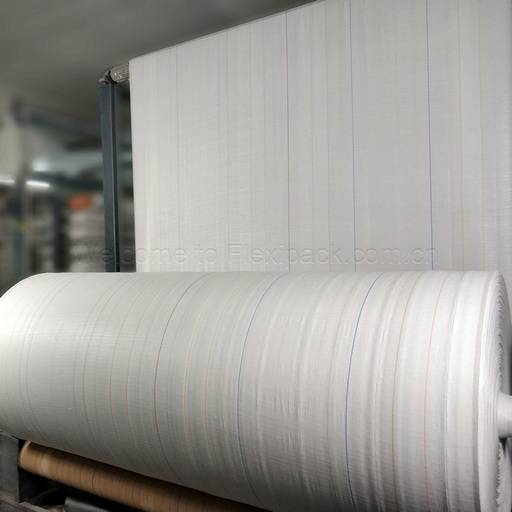 PP PE Round Woven Fabric For FIBC