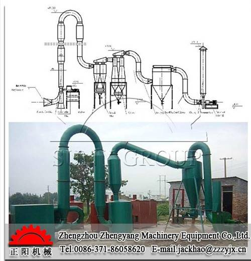 Advanced Air-flow type Sawdust Dryer