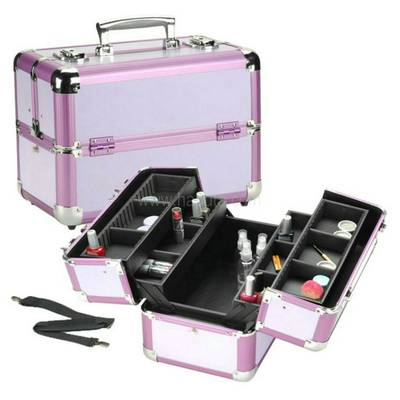 Aluminum Makeup Case HB125