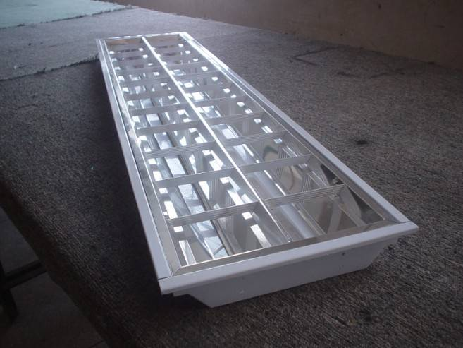 2 tubes T-BAR Embedding Fluorescent Fixtures