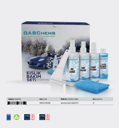Winter Auto Care Set