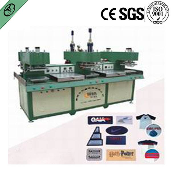 easy operation silicone rubber making machine for embossing garjments,shoes and hats