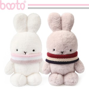 cute rabbit plush toy with a scarf