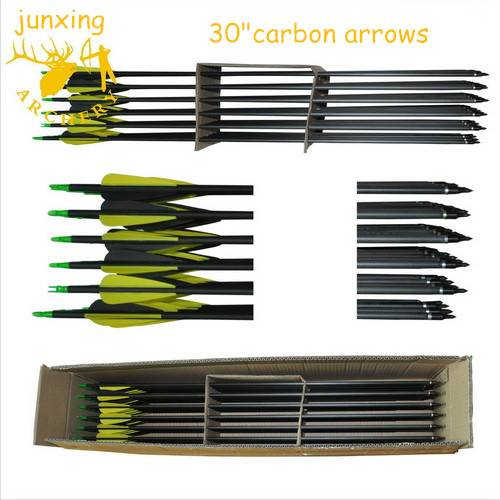 350 spine carbon arrows for compound bow