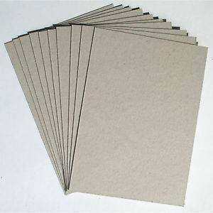 Grade AAA, AA, A Grey Paperboard Cardboard from Factory