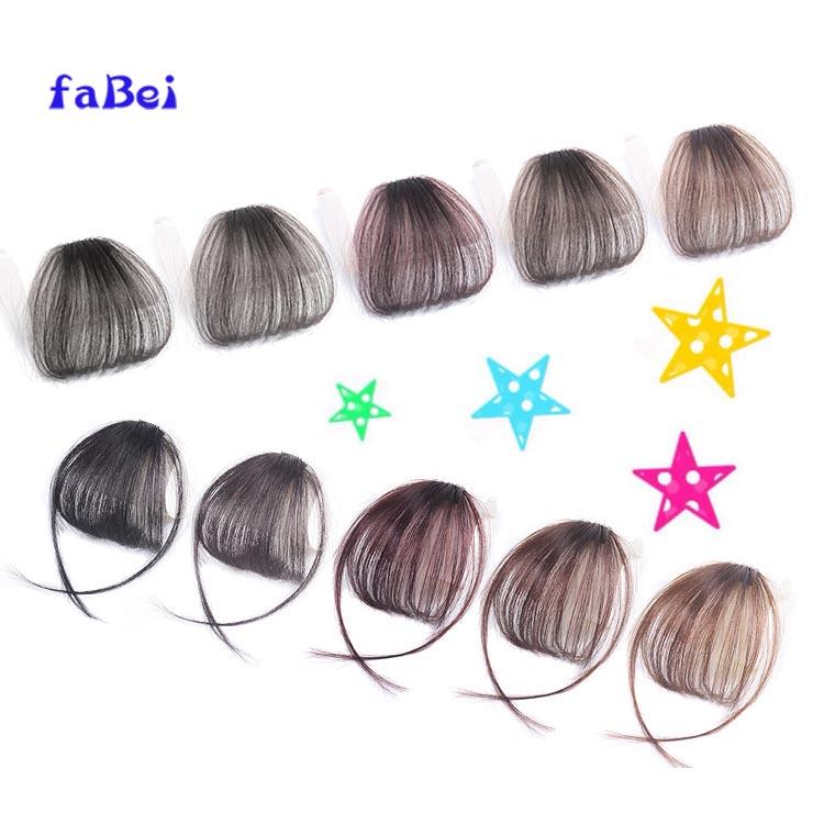 Hot sale virgin human hair bang high quality fringe for lady