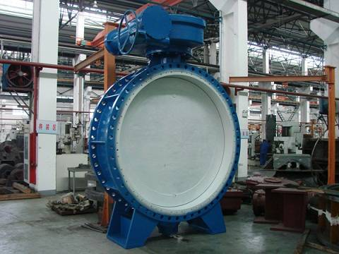 Eccentric Flanged Butterfly Valve